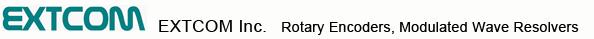 EXTCOM INC.|Rotary Encoders, Modulated Wave Resolvers