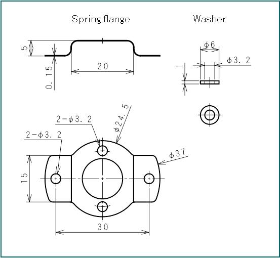 rotary encoder ev25 series    external diameter  u03c625 mm